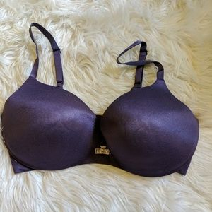 VS Lined demi plum bra